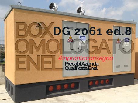 CABINA ELETTRICA OMOLOGATA ENEL DG 2092 ED.03 PRECABL