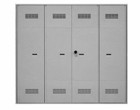 Porta  in vetroresina dim.(mm) :2405x2175x45