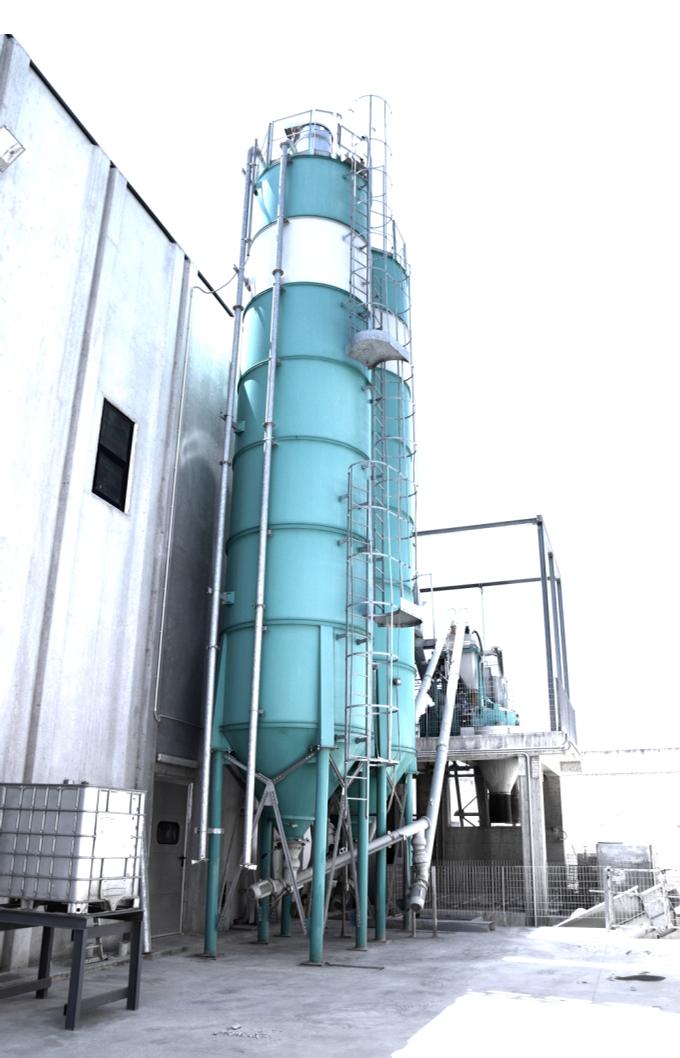 impianto di calcestruzzo stabilimento produzione precabl