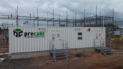 container cabine elettriche prefabbricate precabl panama per enel green power