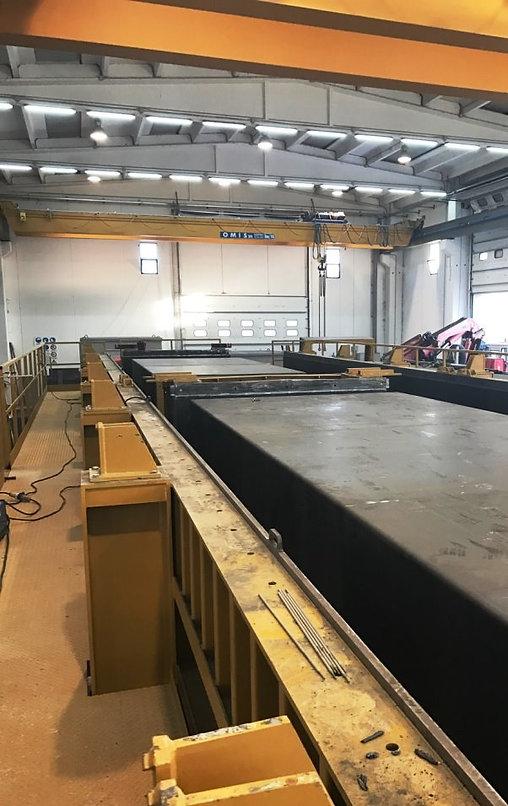 impianti per la produzione dei manufatti precabl