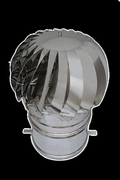 ASPIRATORE EOLICO IN ACCIAIO INOX DIAM.250mm