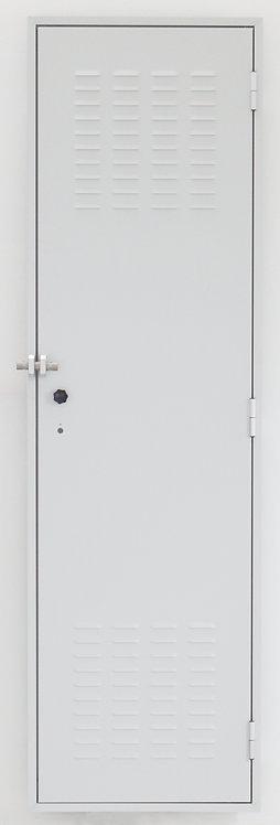 Porta  in lamiera zincata dim.(mm) :640 x 2175 x 45