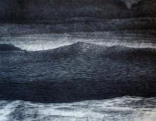 The wave of change III (blue)