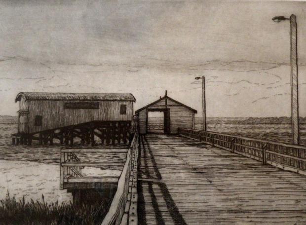 The Queenscliff Pier