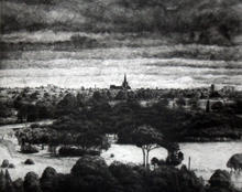 View of St Mary's Cathedral, Geelong