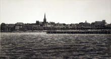 View of Geelong from Rippleside
