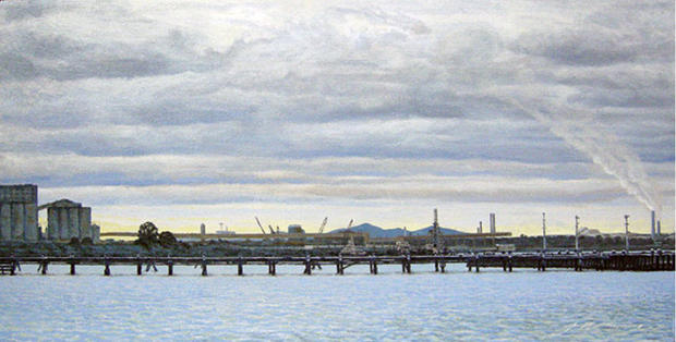 View of Corio Bay and You Yangs