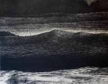 The wave of change III (black)