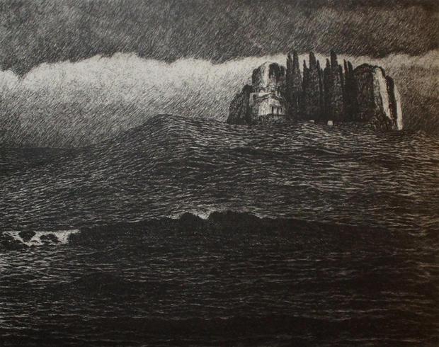 The Wave of Change II (black)