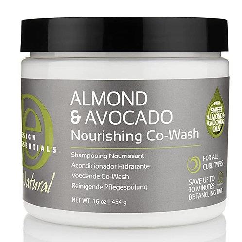 Design Essentials Natural Almond & Avocado Co-Wash