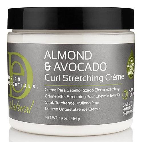 Design Essentials Natural Almond & Avocado Curling Creme