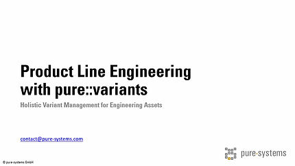 General Overview of Variant Management