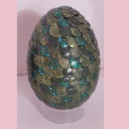 Green 2.75 inch Dragon Egg