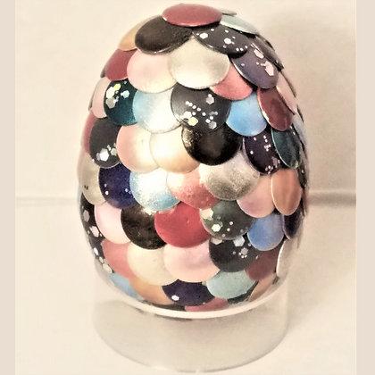 Multicolored 2 inch Dragon Egg