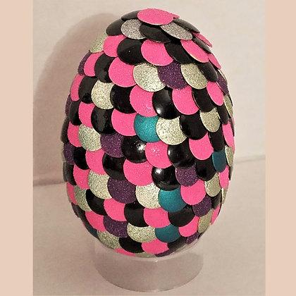 Multicolored Pink 2.75 inch Dragon Egg