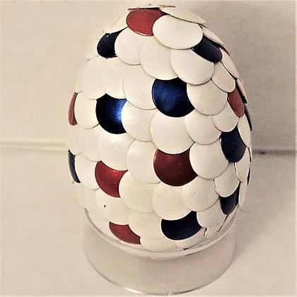 White 2 inch Dragon Egg