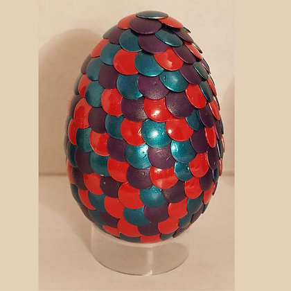 Red Blue Purple 2.75 inch Dragon Egg