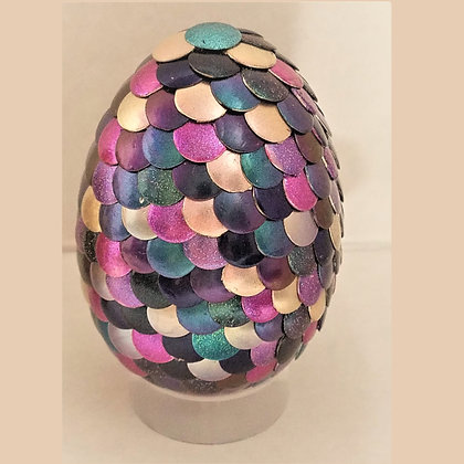 Multicolored Colorshift 2.75 inch Dragon Egg