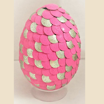 Pink Textured 2.75 inch Dragon Egg