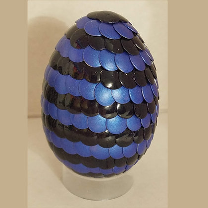 Blue Black 2.75 inch Dragon Egg