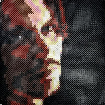 Johnny Depp Perler Bead Portrait