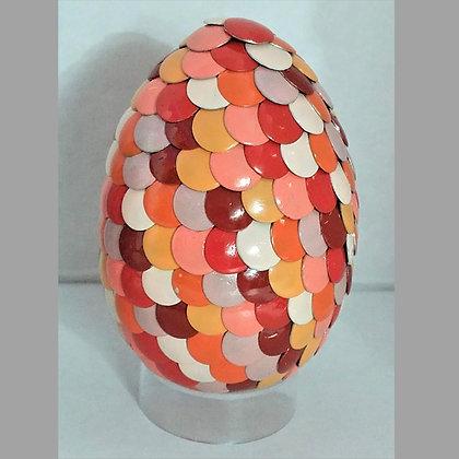 Orange 2.75 inch Dragon Egg