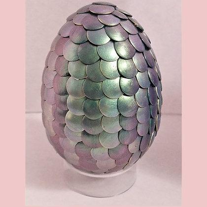 Green Purple Colorshift 2.75 inch Dragon Egg
