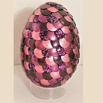 Pink Purple Glitter 2.75 inch Dragon Egg