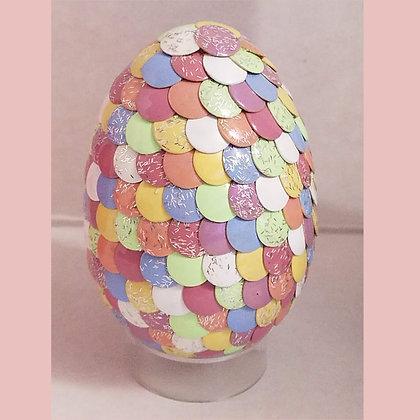 Multicolored Pastel 2.75 inch Dragon Egg
