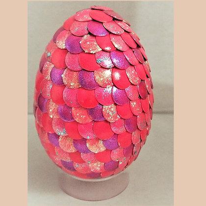 Pink Glitter 2.75 inch Dragon Egg