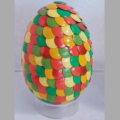 Multicolored Orange Green 2.75 inch Dragon Egg