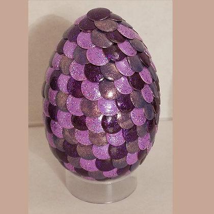 Purple Colorshift 2.75 inch Dragon Egg