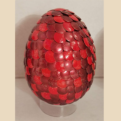 Red 3 inch Dragon Egg