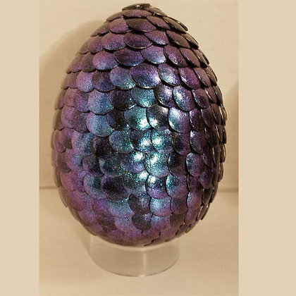 Purple Green Colorshift 3 inch Dragon Egg