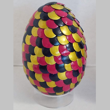 Multicolored Pink Yellow 2.75 inch Dragon Egg