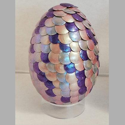 Multicolored Pink Blue Colorshift 2.75 inch Dragon Egg