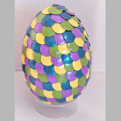 Multicolored 2.75 inch Dragon Egg