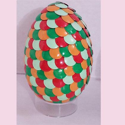 Green Orange 2.75 inch Dragon Egg