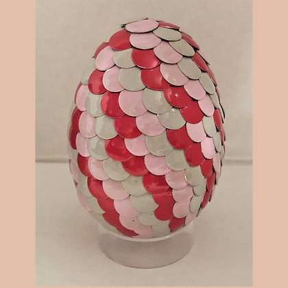 Pink Red 2.75 inch Dragon Egg