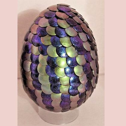 Blue Purple Colorshift Green 3 inch Dragon Egg