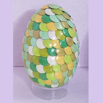 Green Yellow 2.75 inch Dragon Egg