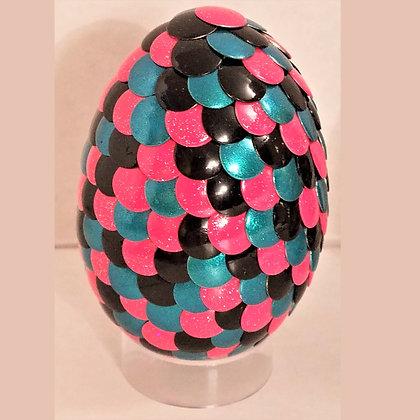 Pink Black Blue 2.75 inch Dragon Egg