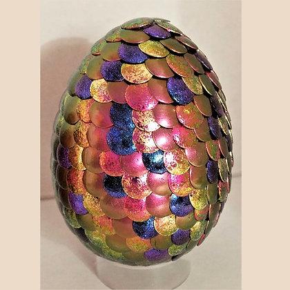 Pink Gold Colorshift 3 inch Dragon Egg