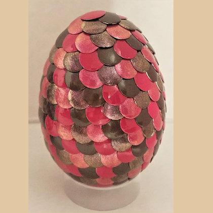 Pink Brown 2.75 inch Dragon Egg