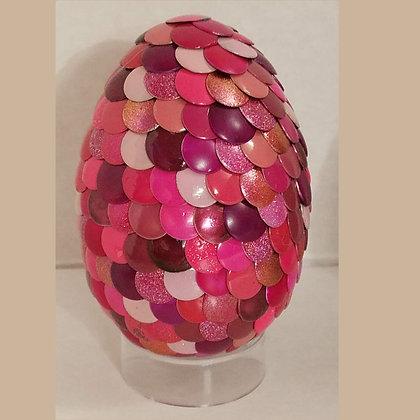 Pink 2.75 inch Dragon Egg