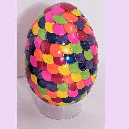 Rainbow 2.75 inch Dragon Egg