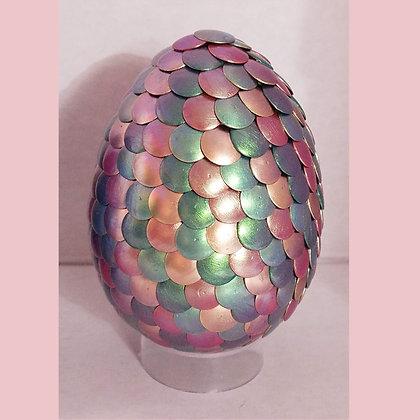 Pink Green Colorshift 3 inch Dragon Egg