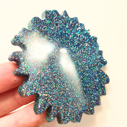 Blue Sparkling Suncatcher