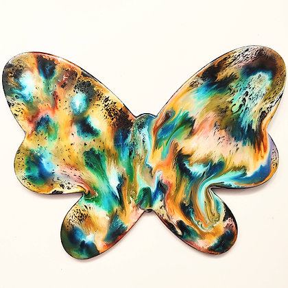"""""""Inktackular 2"""" Butterfly Painting"""